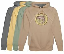 Yellowstone National Park Trout Fishing Hoodie softest cotton Mens Fishing Gift