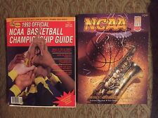 1993 Final Four New Orleans Program & 1993 NCAA Basketball Championship Guide