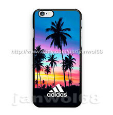 Adidas Sunset Palm Beach For iPhone 6 6s 6+ 6s+ 7 7+ Print On Hard Plastic Case