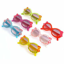 Fashion Baby Kids Children Sun Glasses Plastic Sunglasses Girls Bow Eyewear WU