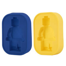 Silicone Robot Man Ice Tray Candy Jelly Chocolate Cake Cookie Mold DIY XP