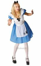 SALE!Disney Adult Alice in Wonderland Classic Ladies Fancy Dress Costume Party