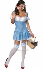 Licensed Wizard Of Oz Sexy Dorothy Ladies Fancy Dress Hen Party Costume Outfit