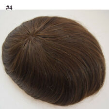 Cheap mens toupee mono toupee best solutation for hair loss non-surgical hair