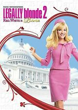Legally Blonde 2: Red, White and Blonde (DVD, 2003, Valentine Faceplate Checkpo…