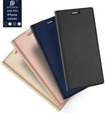 Luxury Slim Flip Magnetic Leather Case Cover Skin For Apple iPhone 5 5S SE