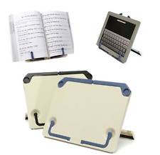 Portable Book Folding Holder Reading Desk Tablet iPad Book Documents Stand New