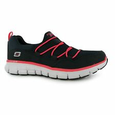 Skechers Synergy Loving Life Trainers Womens Nvy/Coral Sneakers Sports Shoes