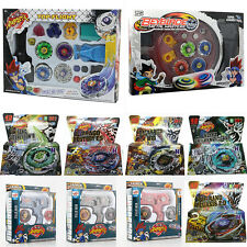 4D Rare Beyblade Fusion Top Metal Master Rapidity Fight Launcher Grip Sets Gift