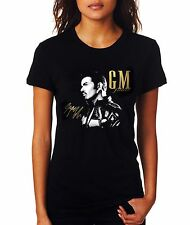 George Michael Forever Black Woman Printed T-shirt