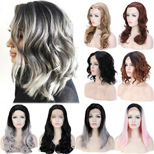Women Full Wig Lace Front Hair Heat Resistant Synthetic Wigs Lady Fashion Style