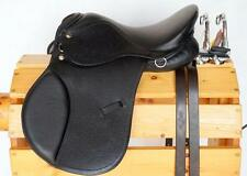 "12"" BROWN All Purpose English EVENT JUMP Saddle Leathers 36"" /48"" +Stirrup Irons"