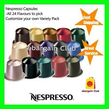 Nespresso Coffee Capsules Pods All 24 Flavours Pick Your Choice Mix Match eBClub