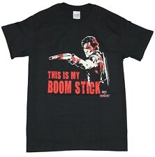 Army of Darkness Mens T-Shirt - This is my Boom Stick Blood Splattered Ash image