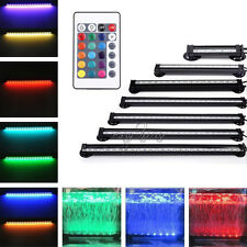 Aquarium Fish Tank 5050SMD RGB LED Light Submersible Lamp With IR Remote Control