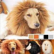 Pet Costume Lion Mane Wig Hair for Large Dog Halloween Clothes Fancy Dress up #8