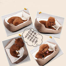 Dog Cat Bed Soft Warm Pet Beds Cushion Puppy Sofa Couch Mat Kennel Pad Furniture