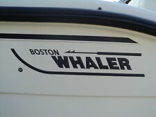"BOSTON WHALER 5.6 X 28"" length replacement DECALS fits Outrage 18 Fishing  Boat"