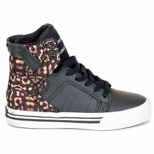 Supra Skytop Black Youths Trainers
