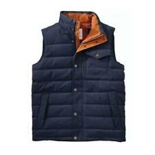 NWT Timberland Mens Mount Davis Waxed Down Vest 550-fill-power 240G Size S Small