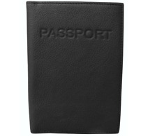 Leather Passport Holder Italian Cowhide Leather Interior Pocket Multi Colors New