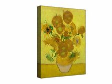 Vincent Van Gogh Sunflowers  ~  Canvas Wall Art Picture Print Framed + Sizes