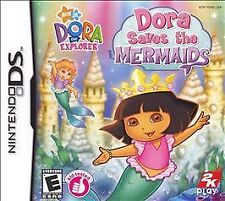 """Dora The Explorer"" Dora Saves The Mermaids (Nintendo DS 2007) - Pre-Owned"