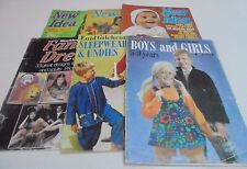 Enid Gilchrist's Pattern Books and New Idea Vintage Sewing Knitting U Choose