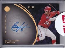 2016 The Mint BRYCE HARPER #/50 SEALED On-Card Auto SP Washington Nationals