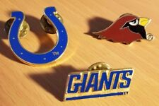 1995-96 NFL NBA Lapel Pin Choose 1 NY Giants, Indiana Pacers, Indianapolis Colts