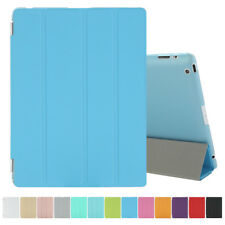 SMART ULTRA SLIM MAGNRTIC STAND LEATHER CASE COVER FOR iPad 4 3 2 Mini 2 3 Air 2