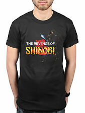 Official Sega Revenge Of Shinobi Retro T-Shirt Classic Game Merchandise Genesis