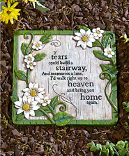 Sentiment Steppingstones If Tears Life Is Short My Mother Garden Lawn Decor New