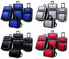 US Traveler New Yorker 4 Piece Luggage Set Expandable: Choose Color