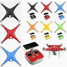 3M Carbon Stickers Decal Skin Protector for DJI 4 Pro/Pro+ Body &Remote Control