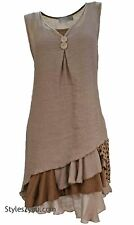 NEW Pretty Angel Clothing Colette Two Piece Knit Top Tunic In Brown 69802