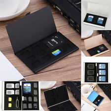 Metal Memory Card Storage Case Protective Holder Box For CF TF SD SIM Card ty