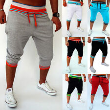 Mens Sports Pants Baggy Jogger Casual Trousers Shorts Harem Training Dance Pants