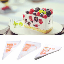 100pcs Disposable Cream Pastry Cake Icing Piping Decor Drcorate Bags Baking Tool