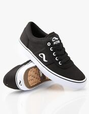 Adio KICK TURN Skate Shoe Mens Trainers Black-White choice of size 50% OFF
