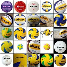 Mikasa Volleyball Olympic PU PVC Leather Cover FIVB Game Ball Beach Summer Sport