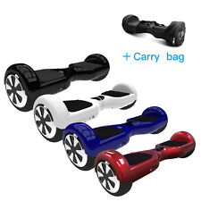 Two Wheel Self Balancing Electric Scooter 6.5 UL 2272 With Carry Bag 500W New