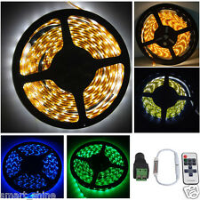 5050 RGB/2835 5M SMD LED Strip Light / Adapter / IR Remote Controller Waterproof