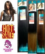 Sensationnel Premium Too Yaki Natural 100% Human Hair Weave 12 Inch