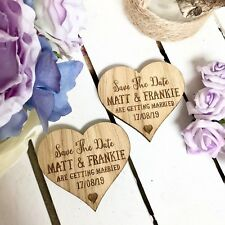 Save The Date Magnet Wood Wedding Rustic Wooden Save The Date Magnets 03STD