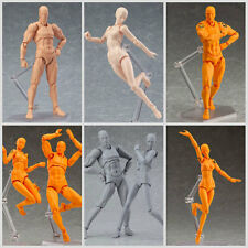 Male/Female PVC Action Figma Archetype Figure Body Toy For Cartoon Drawing