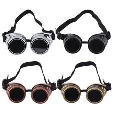 New Goggle Cyber Steampunk Glasses Vintage Retro Welding Punk Gothic XP