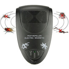 Ultrasonic Electronic Anti Mosquito Mice Insect Pest Bug Control Repeller XP