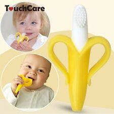 High Quality Environmentally Safe Baby Teether Teething Ring Banana Silicone
