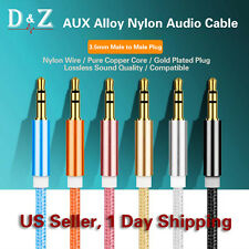 HOT 3FT 3.5mm AUX AUXILIARY CORD Male Male Stereo Audio Cable iPod MP3 CAR AUDIO